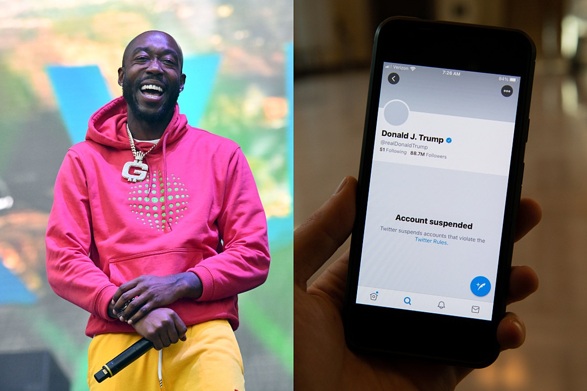 Freddie Gibbs Suggests President Trump Get an OnlyFans Account Following Social Media Ban