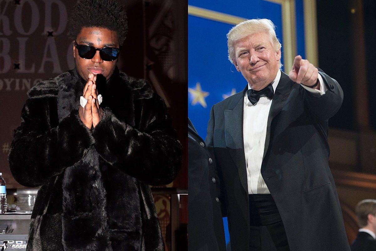 President Trump Pardons Kodak Black