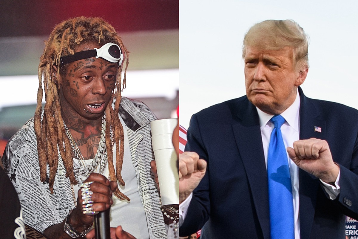 Lil Wayne Receives Presidential Pardon From Donald Trump