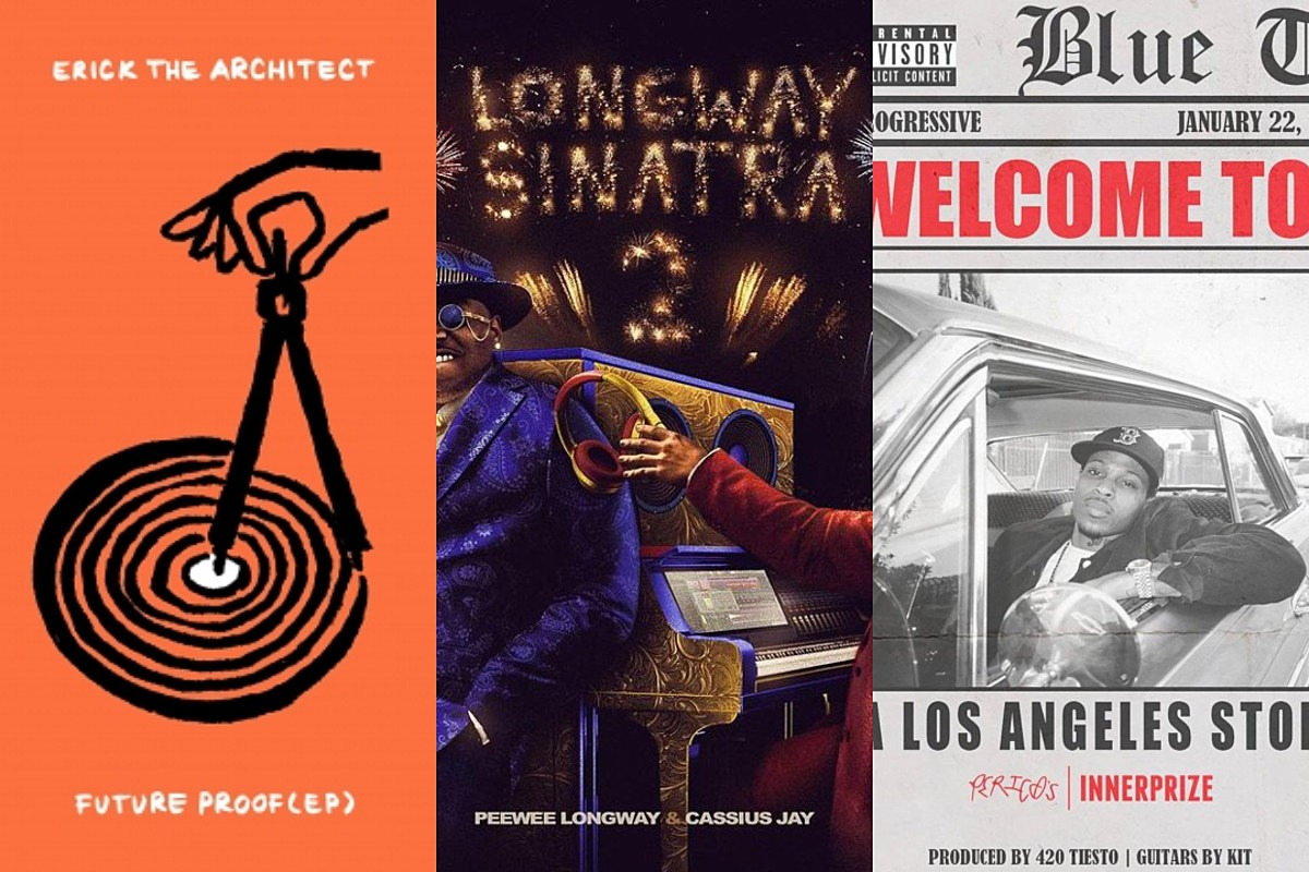 Peewee Longway, Erick The Architect, G Perico and More – New Projects This Week