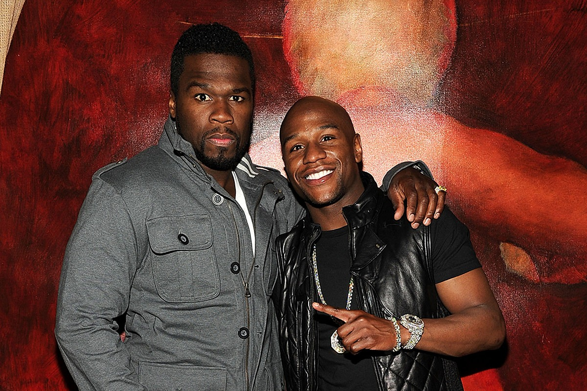 Floyd Mayweather Is Down to Fight 50 Cent, Doesn't Care About Weight Class