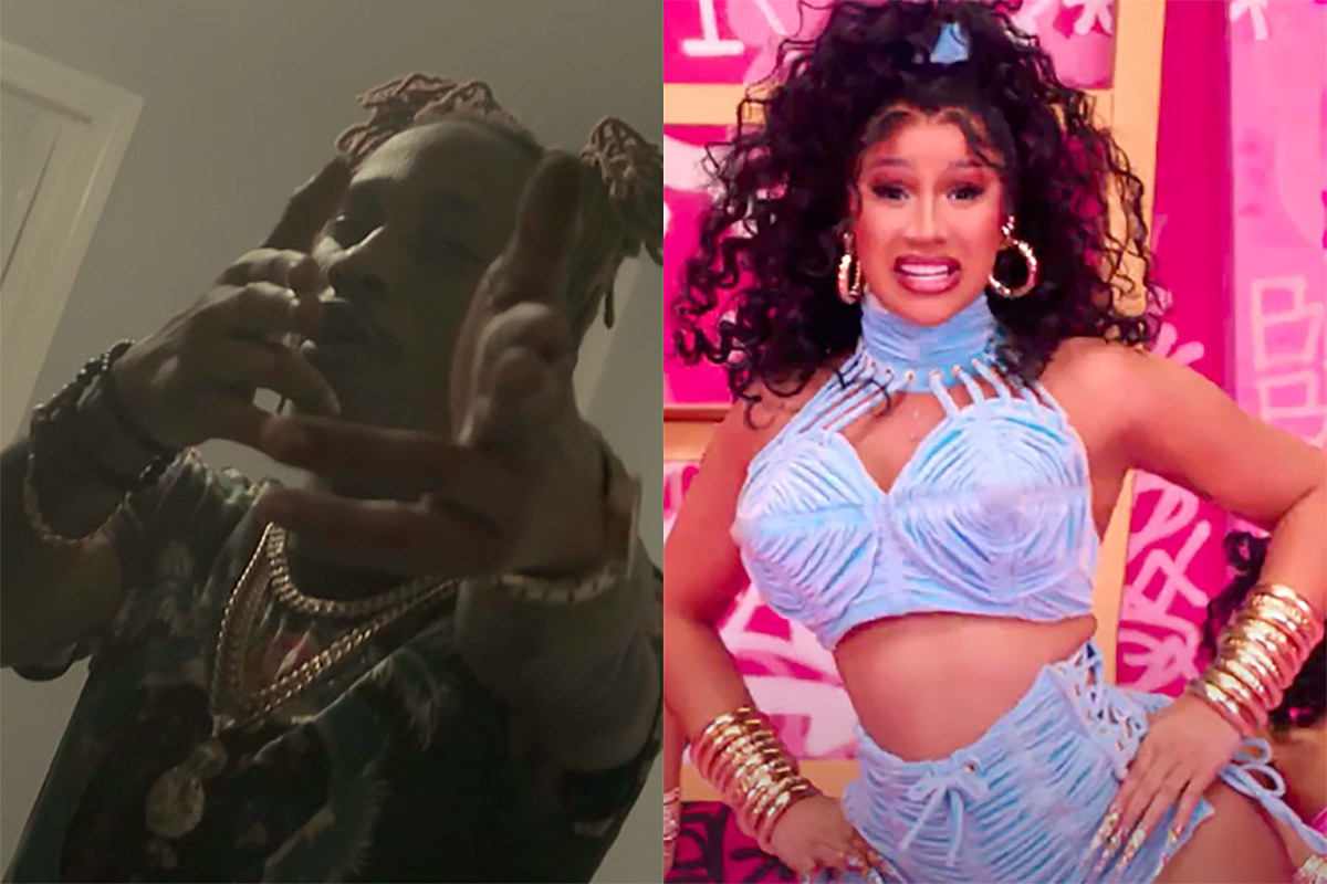 Mir Fontane Thinks Cardi B Stole Hook of New Song 'Up' From Him, Cardi Responds – Listen