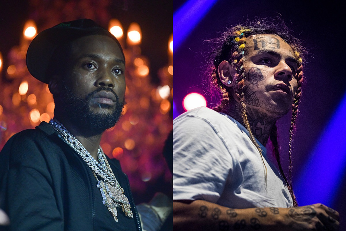 Source Explains What Actually Led to Meek Mill and 6ix9ine Altercation