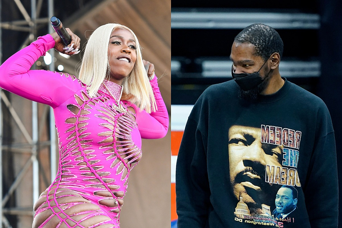 Kash Doll and NBA Star Kevin Durant Argue Over KD Moniker After She Tweets 'All These N!gg@s Wanna F@&k KD'