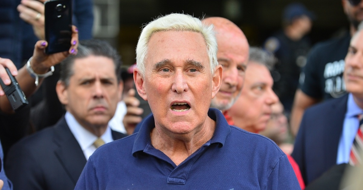 Roger Stone Gets His Hip-Hop On With Trump-Loving Rapper Forgiato Blow