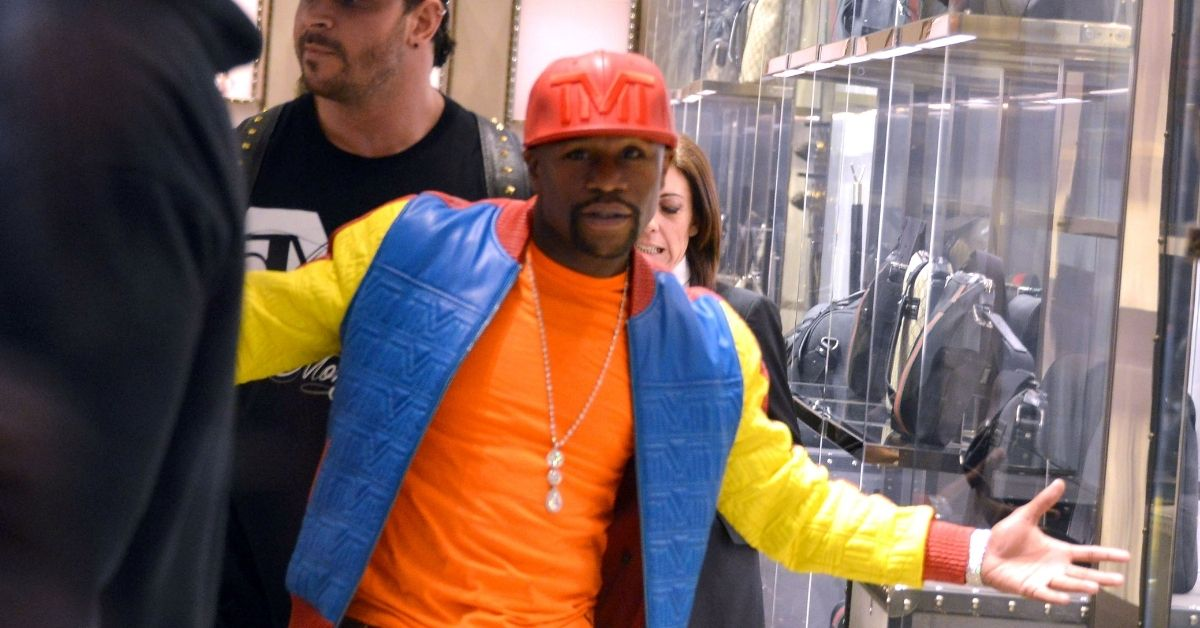 Floyd Mayweather In Bidding War With Rapper Over $2 Million Maybach