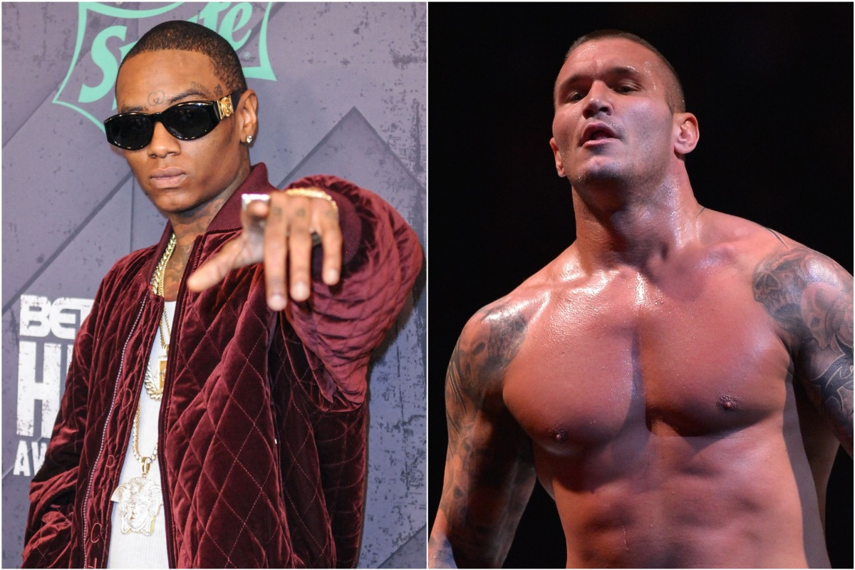 """Soulja Boy Clashes With WWE Star Randy Orton After Calling Wrestling """"Fake"""""""