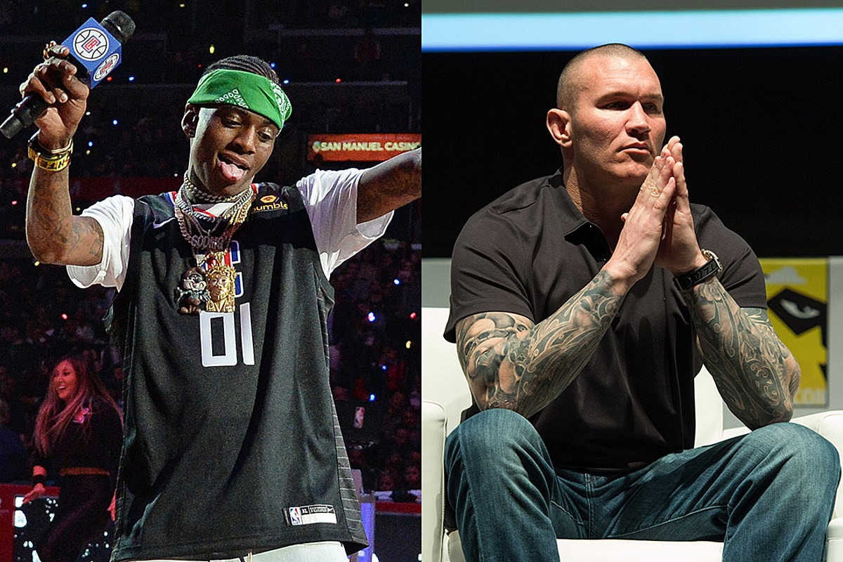 Soulja Boy and Wrestler Randy Orton Beef Erupts, Randy Challenges Soulja to a Fight