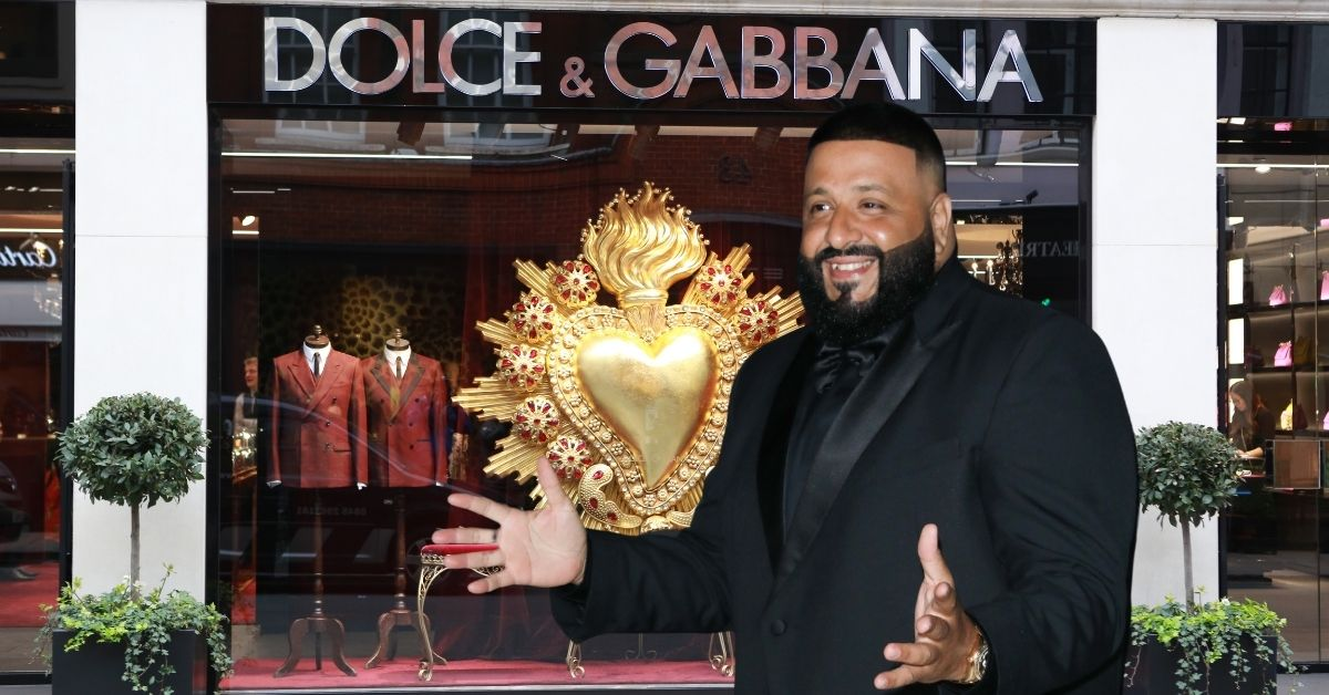 Demand For DJ Khaled New Collection Crashes Dolce & Gabbana's Servers And Computers