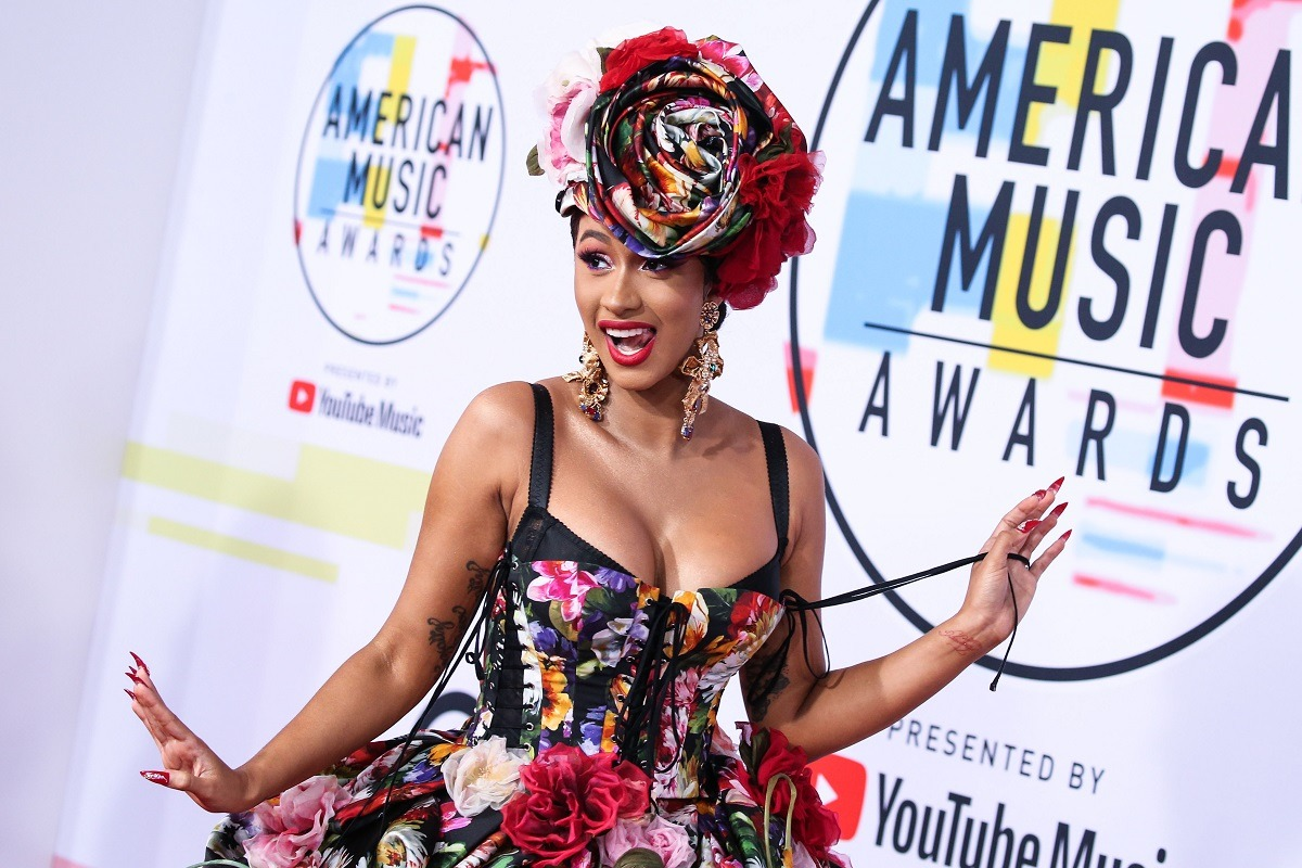 """Cardi B's """"Up"""" Sells 1 Million Units, Enters Tight Race For No. 1 On The Hot 100 Chart"""