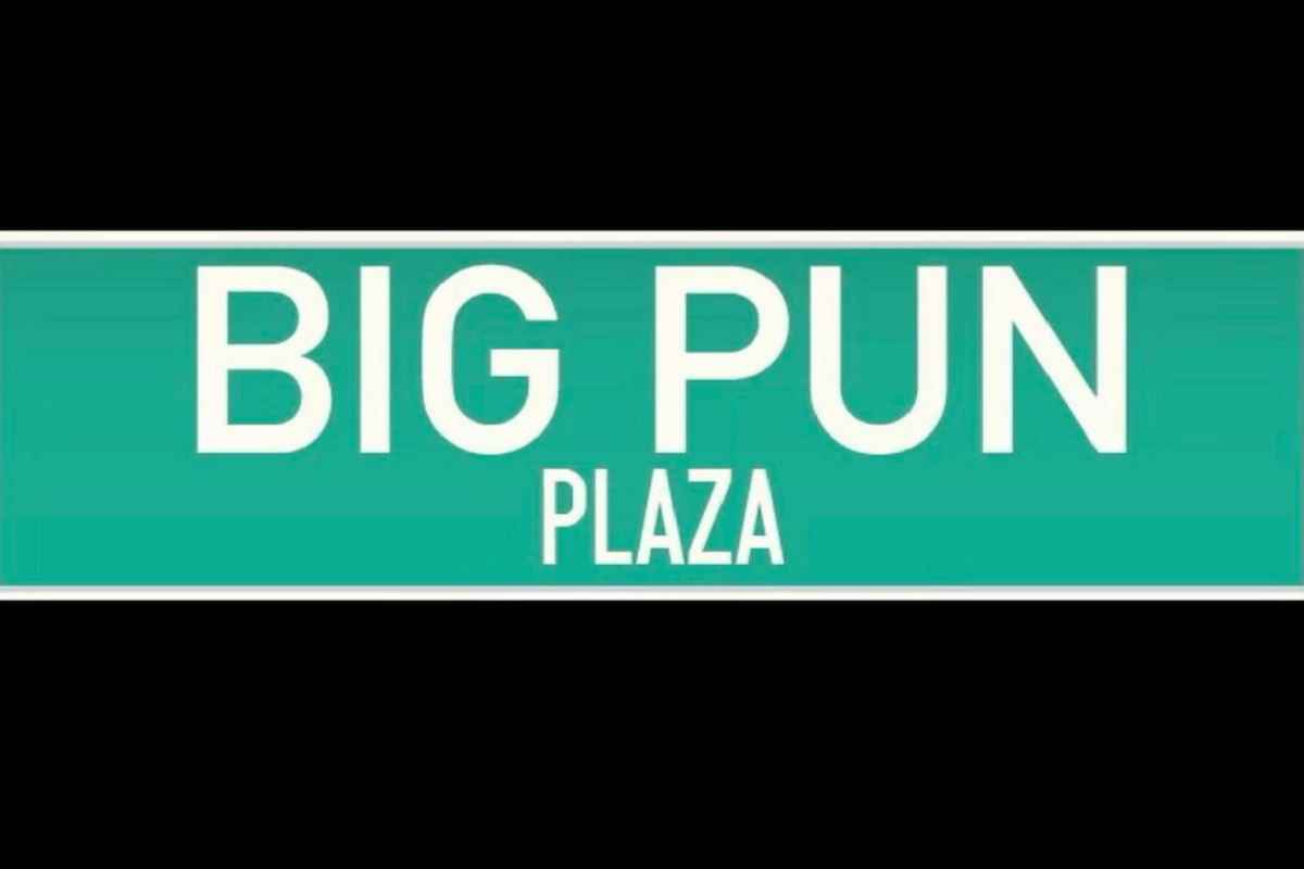Big Pun Plaza Unveiled In The Bronx Today