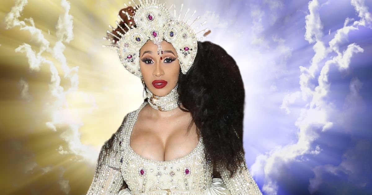 """Cardi B Asks For A Visit From God After """"Up"""" Hits #1"""