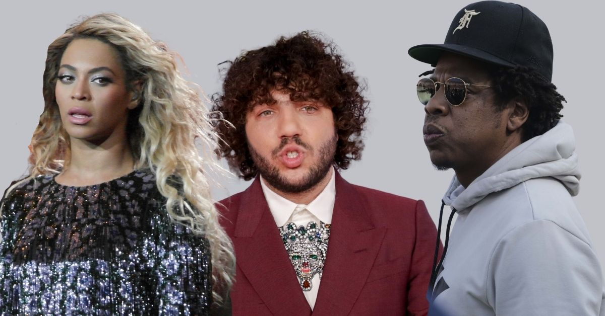 Producer Benny Blanco Feared For His Life After He Kissed Beyonce In Front Of Jay-Z