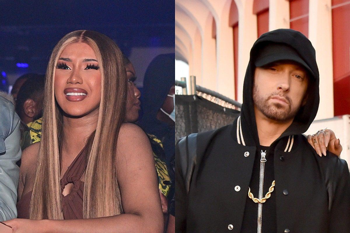 Cardi B Responds to Rumor Eminem Shot Down Her Feature Request – 'Ya Makin Sh!t Up'
