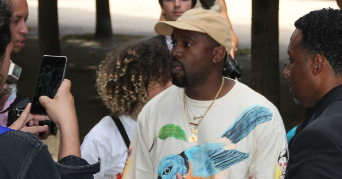 Kanye West's Cousin Sells Off Rappers Childhood Artwork To Private Collector For Big Bucks