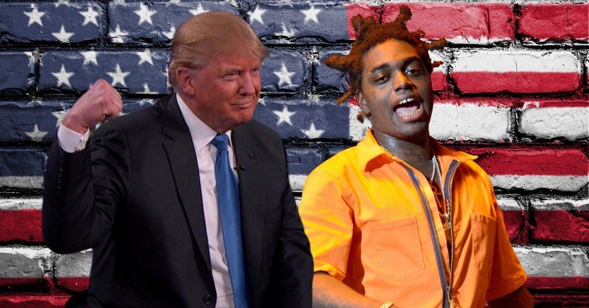 "Kodak Black Thinks Former President Trump Is A ""Real One"" Despite Dissing Haiti"