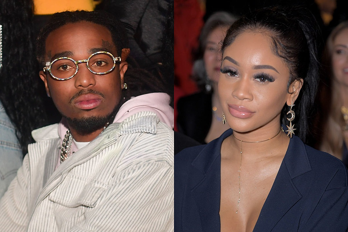 Quavo Responds to Saweetie Elevator Video, Claims He's Never Physically Abused Her: Report