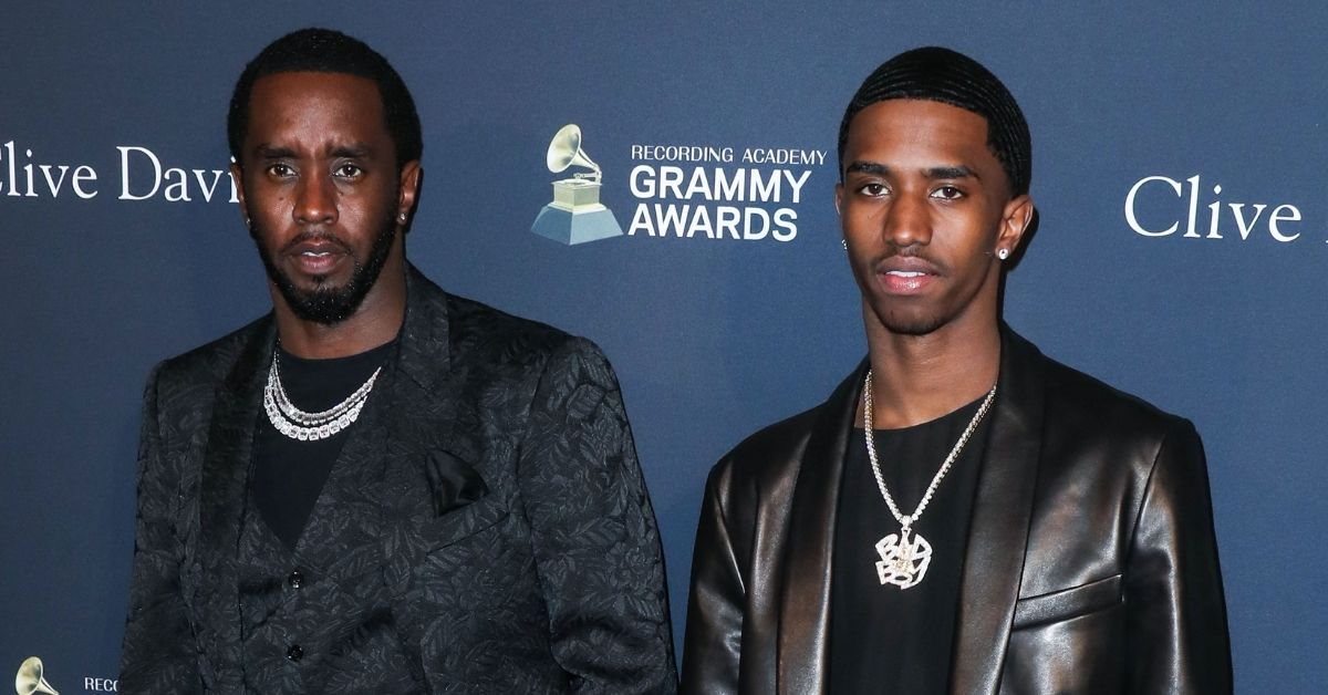 Diddy Turned Into A Living Hologram To Surprise His Son King Combs