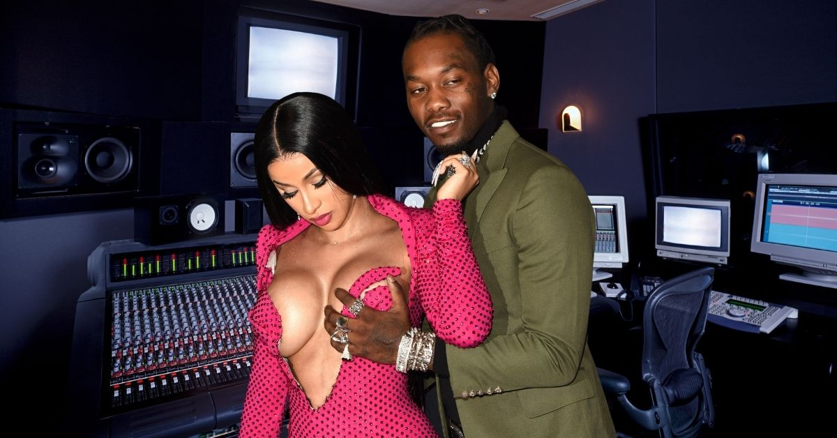 """Cardi B Details Freaky Recording Session With Offset After Recording """"Um Yea"""""""