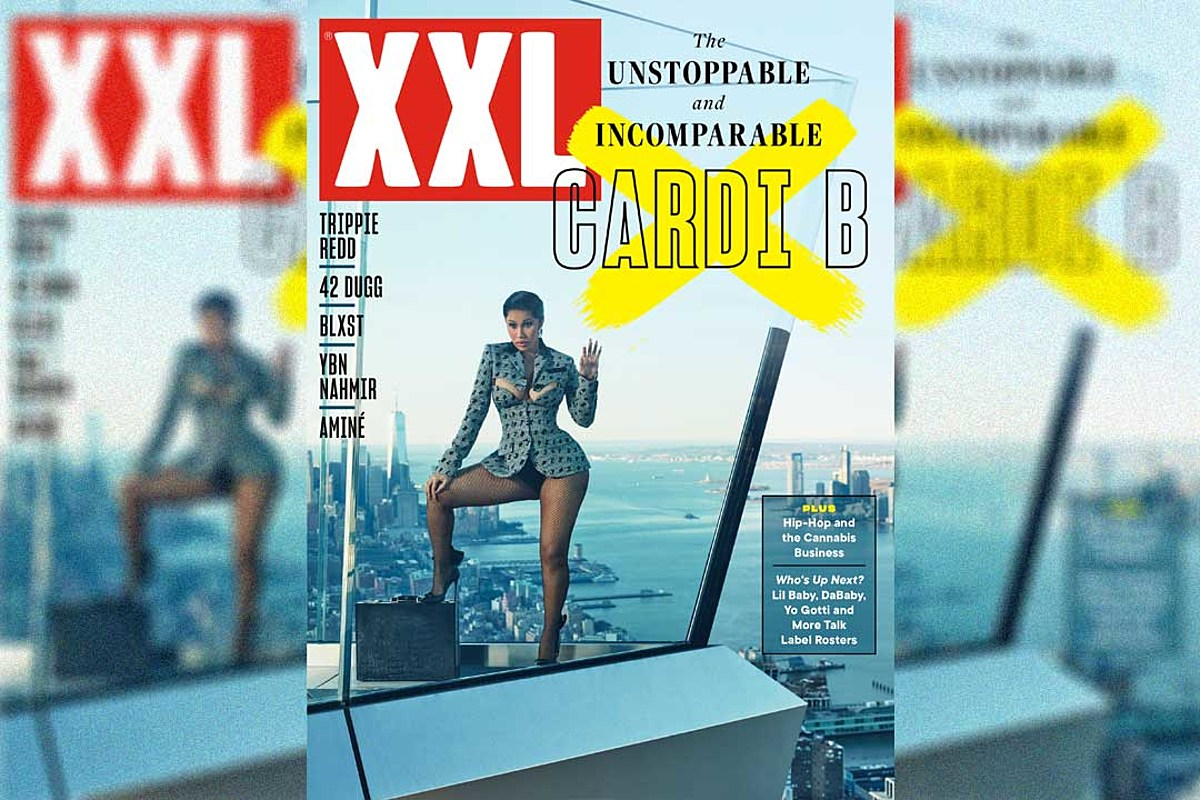 Cardi B Covers XXL Magazine's Spring 2021 Issue