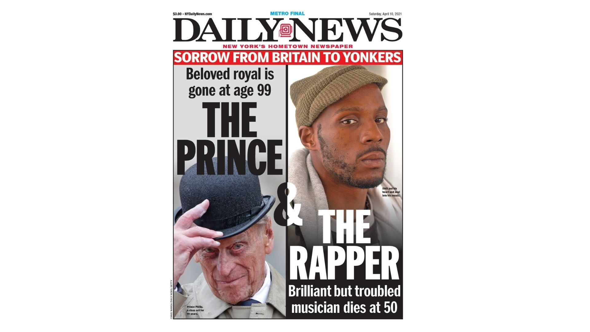 "Internet ""Fixes"" New York Daily News' Shady Headline About DMX"