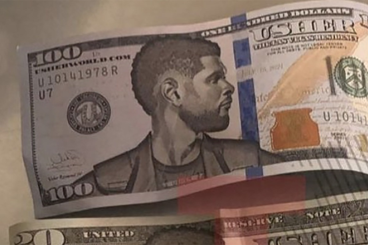 21 Savage and Chris Brown Post Up With Usher's Fake Money Following Strip Club Controversy