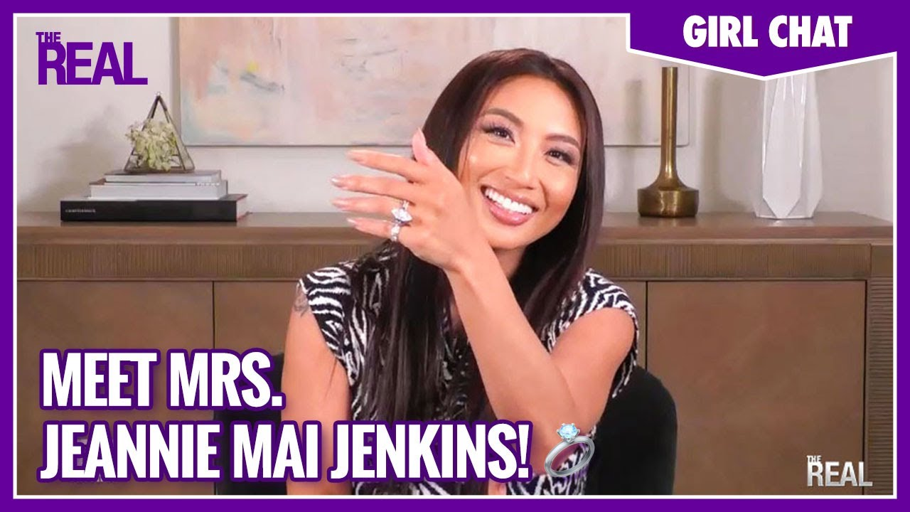 Jeannie Mai Explains Why She Is So Proud to Be Mrs. Jeezy