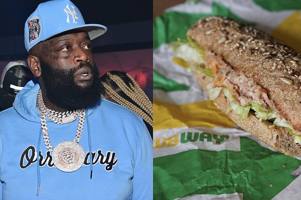 Rick Ross Uses Subway's Tuna Controversy to Promote Wingstop's Thighstop