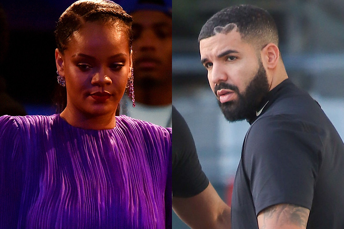 Rihanna Covers Up the Matching Tattoo She Had With Drake