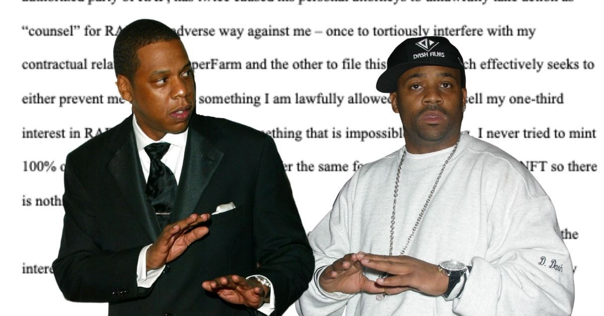 """EXCLUSIVE: Damon Dash Says Jay-Z Is """"Frantic"""" And """"Desperate"""" And Illegally Trying To Take Over Roc-A-Fella Records"""