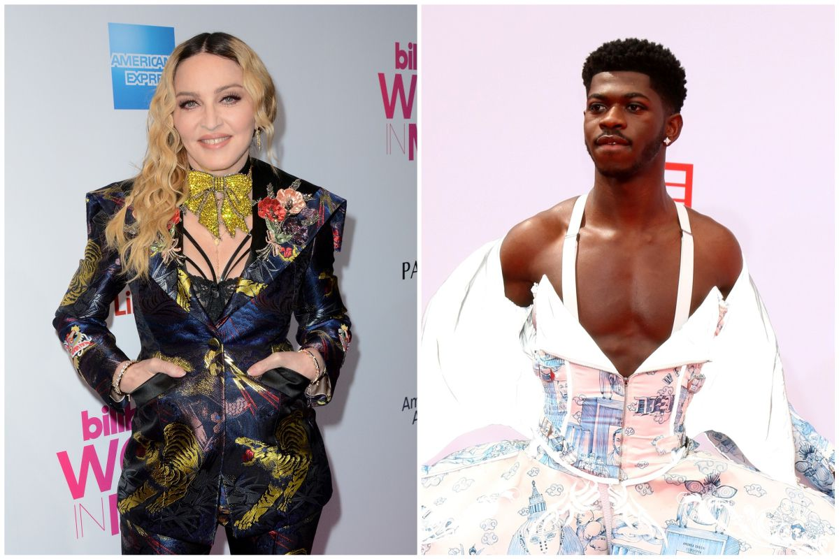 Madonna Compares Kissing Britney Spears To Lil Nas X Kissing Male Dancer At BET Awards