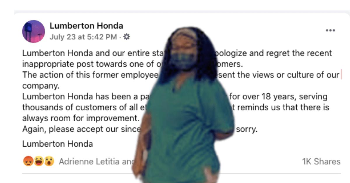 Racist Car Dealership Labels Black Woman Bon Quisha And Gets Canceled
