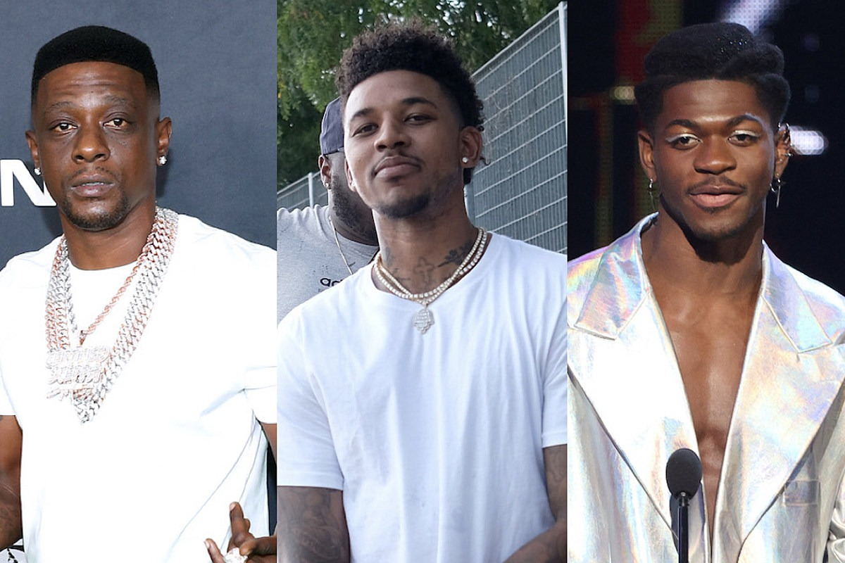 Former NBA Player Nick Young Defends Boosie's Homophobic Comments, Lil Nas X Responds