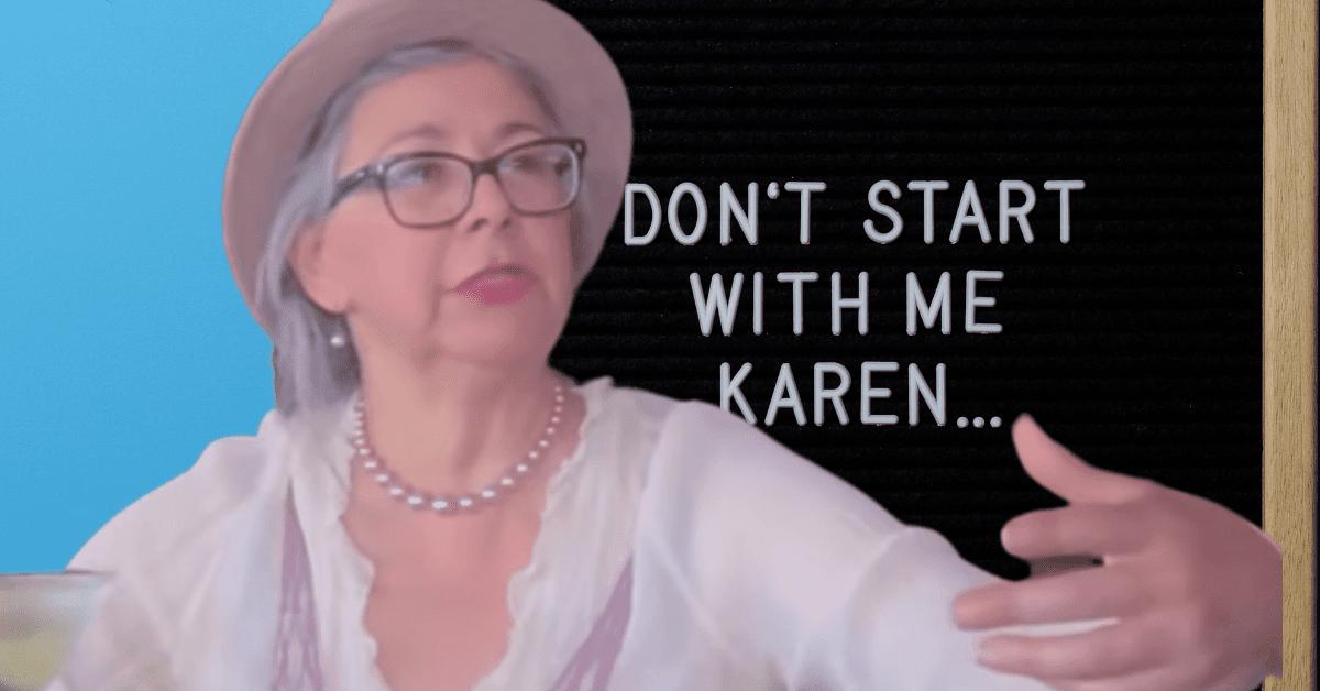Karen Demands Black Men Put Black Women In Check During Shocking, Drunken Rant