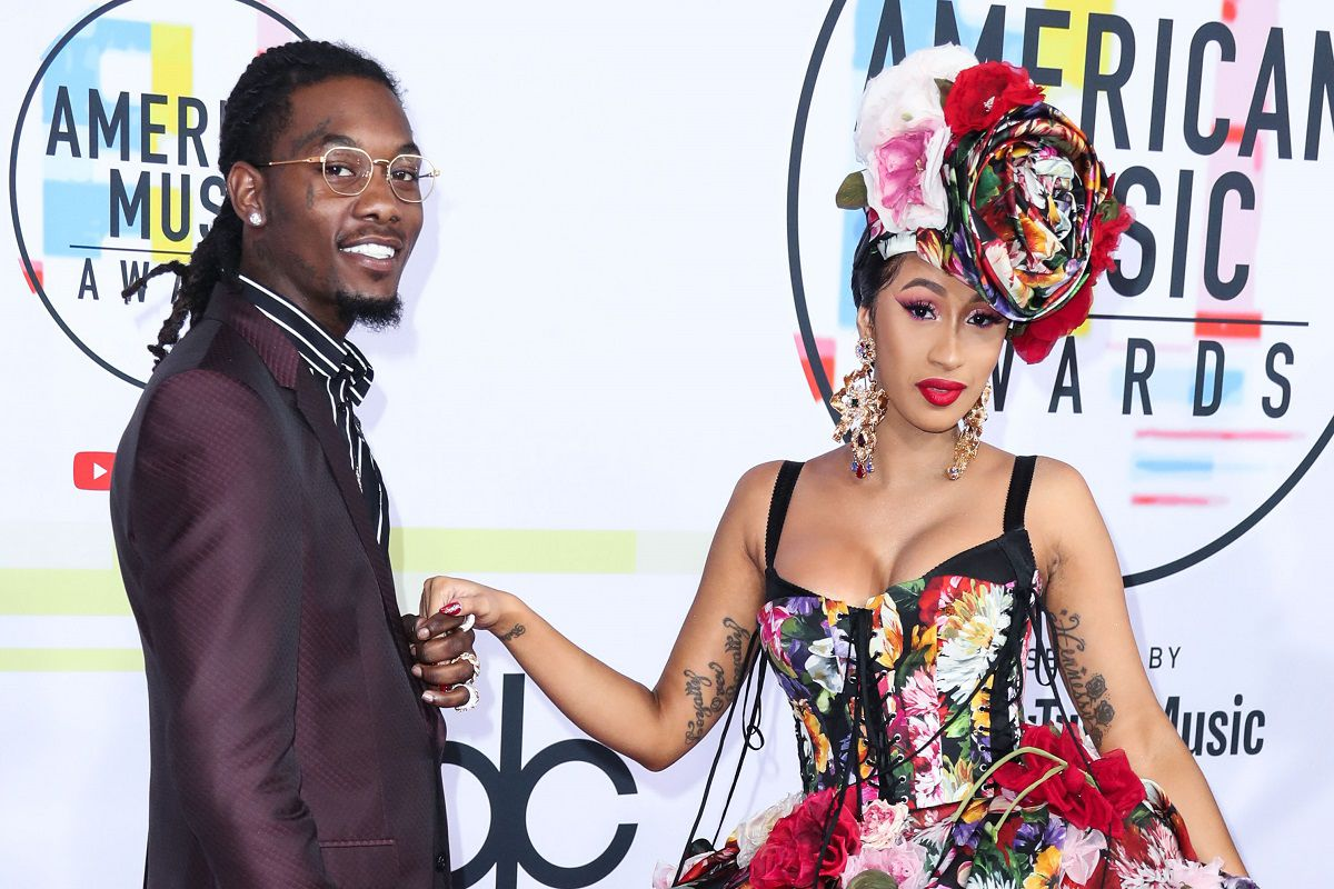 Migos Bring Out A Pregnant Cardi B During Summer Jam Performance