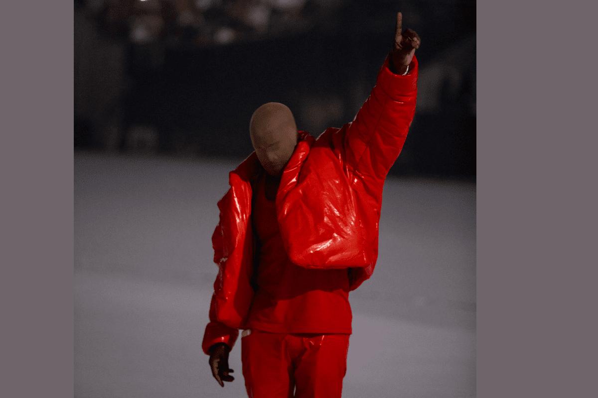 "Kanye West Recreates Childhood Home for ""DONDA"" Listening Event"