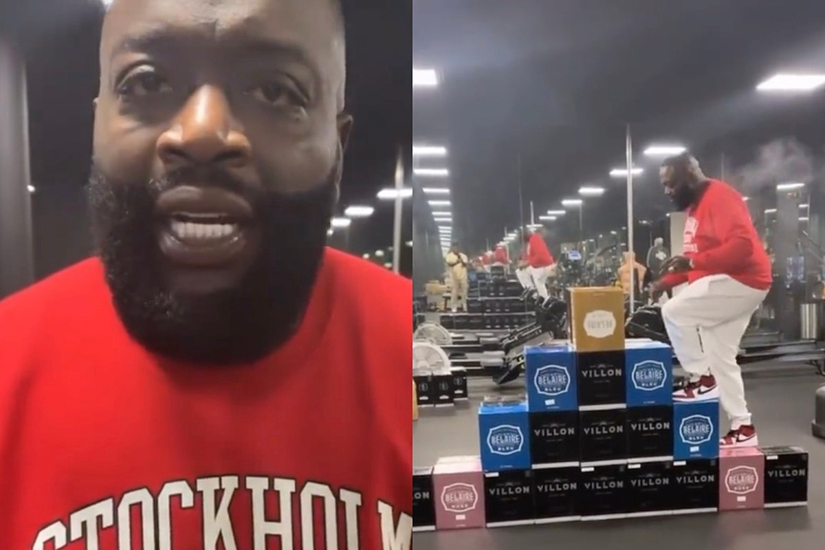 Rick Ross Does His Own Crate Challenge – Watch