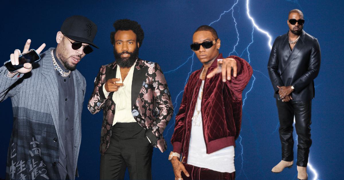 Chris Brown, Donald Glover, and Soulja Boy all Take Shots at Kanye