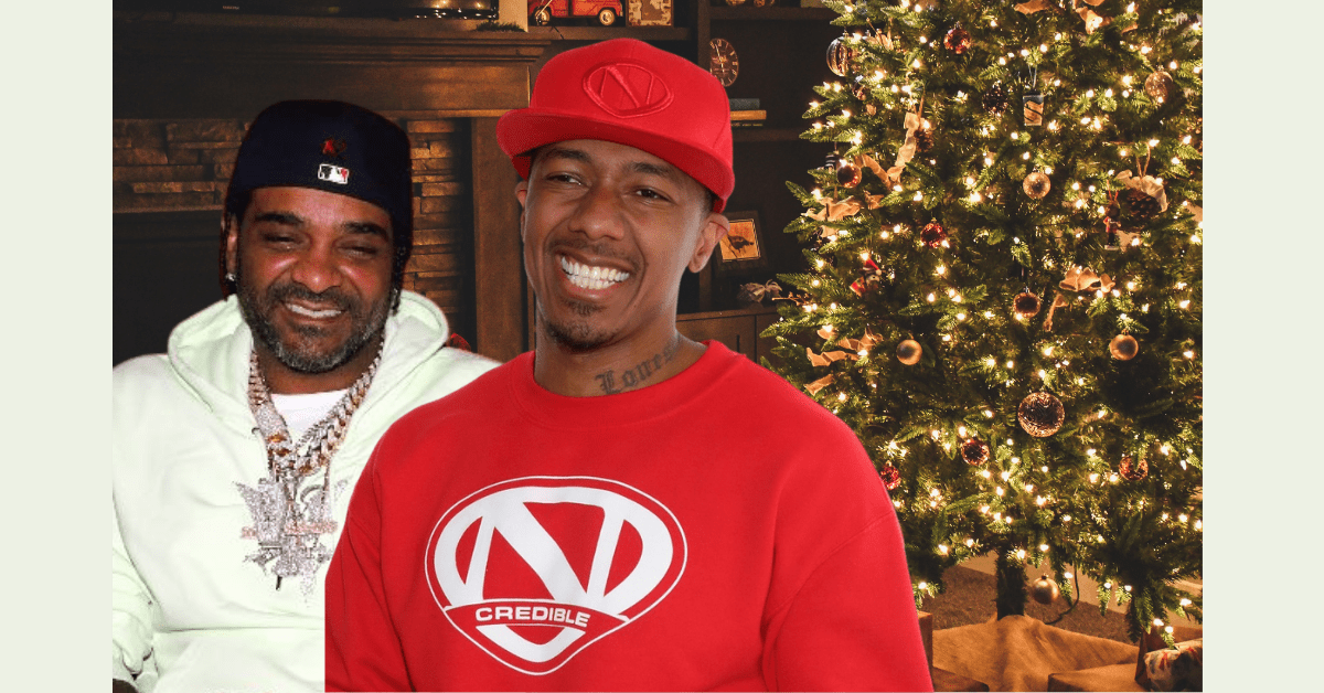 Jim Jones Starring in Christmas Movie with Nick Cannon