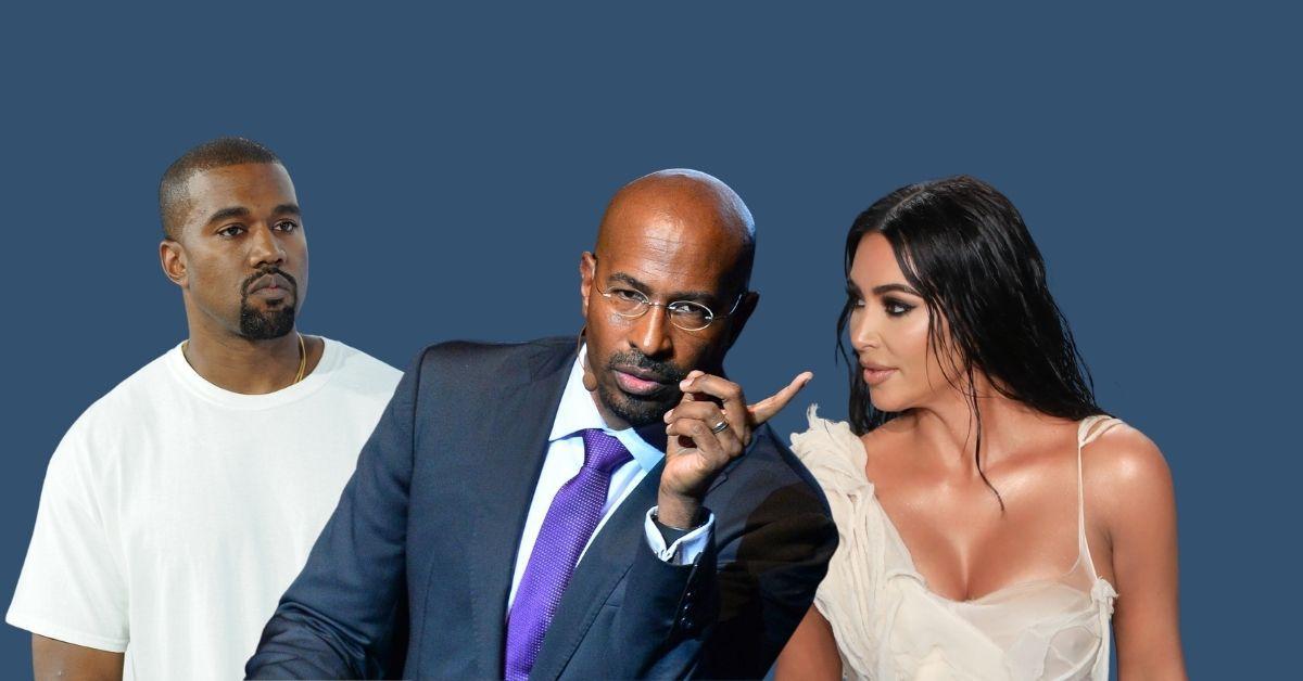 "Van Jones ""Flattered"" By Kim K Rumors – But Denies Dating Kanye's Wife"