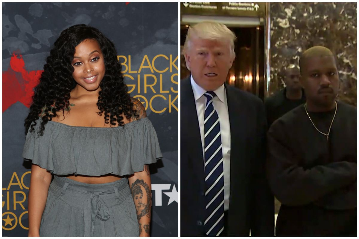 """Chrisette Michele Questions Why She Was """"Canceled"""" And Not Kanye West"""