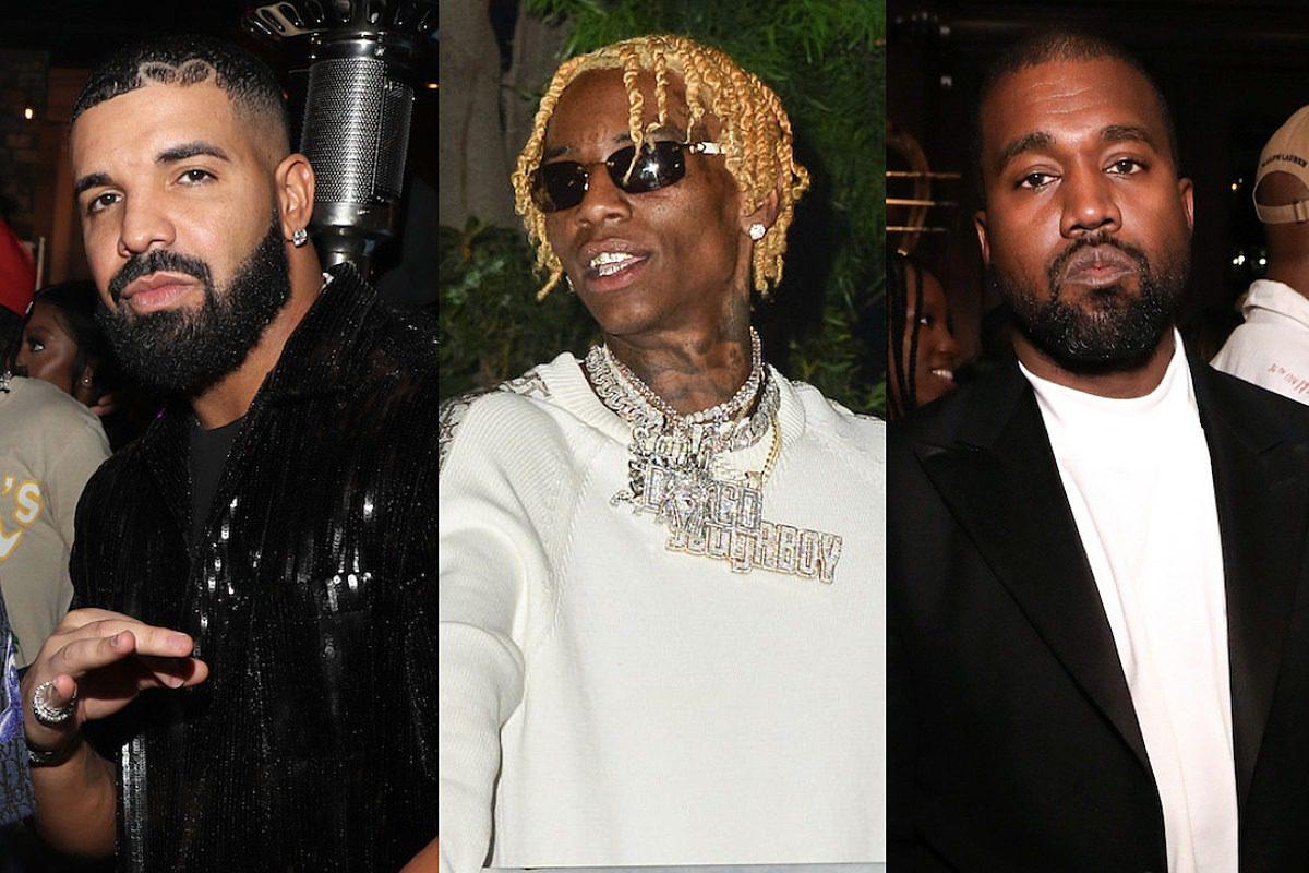 Drake Wears Soulja Boy Glasses After Soulja Puts Kanye West on Blast