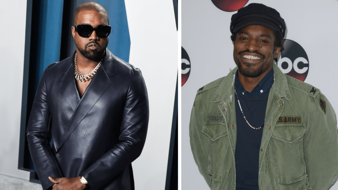 Kanye West Previews Unreleased Track With André 3000
