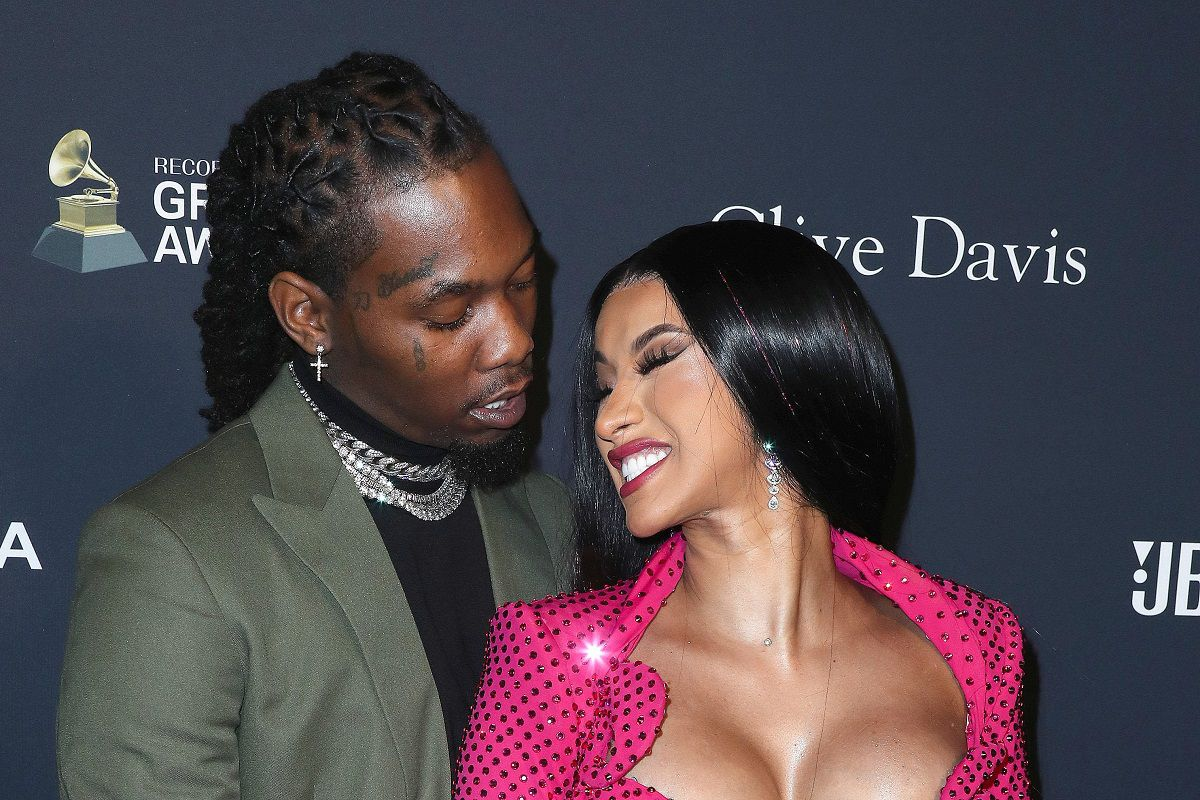 Cardi B And Offset Welcome Baby # 2