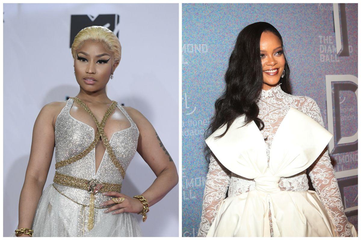 Nicki Minaj Posts A Photo With Rihanna, A$AP Rocky, Kenneth Petty & Son