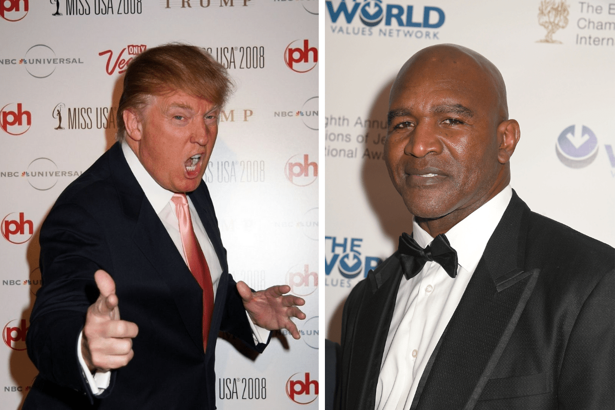 Donald Trump to Host Evander Holyfield's Comeback Fight