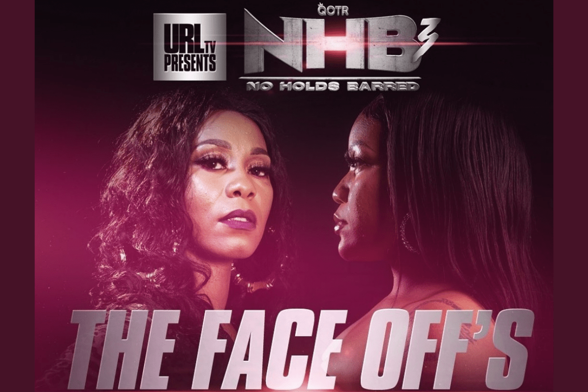 """Ultimate Rap League X Queen of The Ring """"No Holds Barred 3"""" – The Faceoffs"""