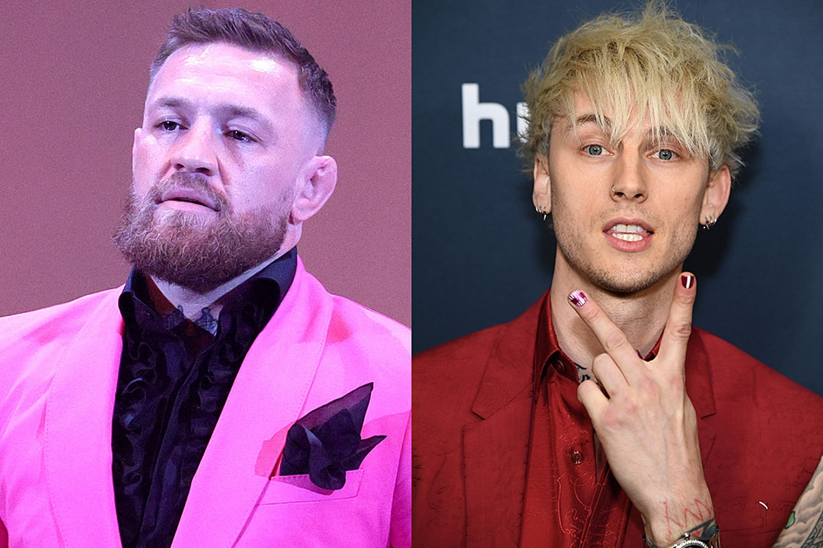Conor McGregor Claims He Doesn't Know Machine Gun Kelly, Says He Doesn't Fight 'Little Vanilla Boy Rappers'