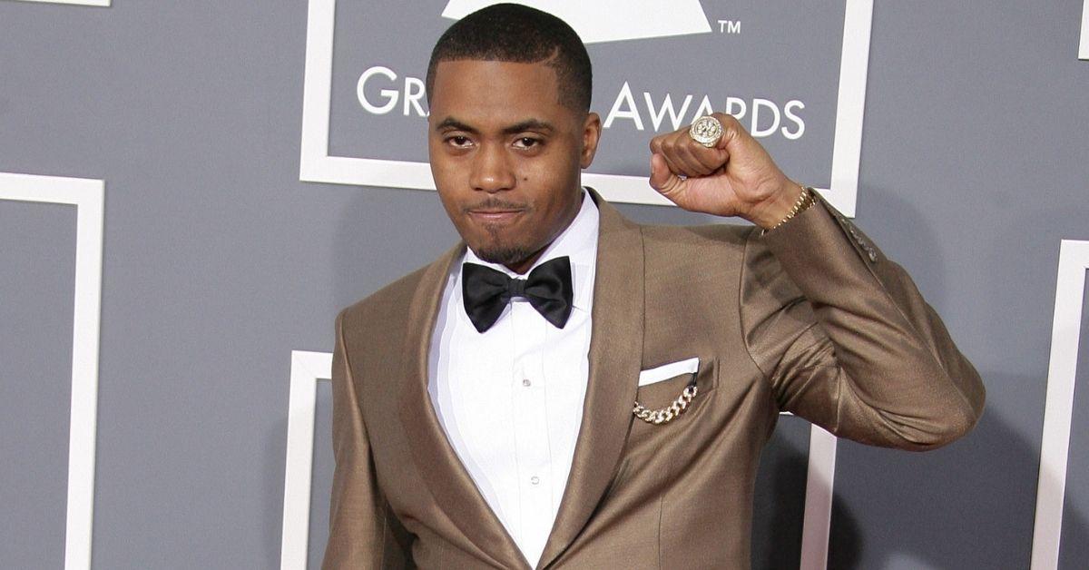 Rapper Nas Gets Fashionable With Rihanna For Savage X Fenty Fashion Show