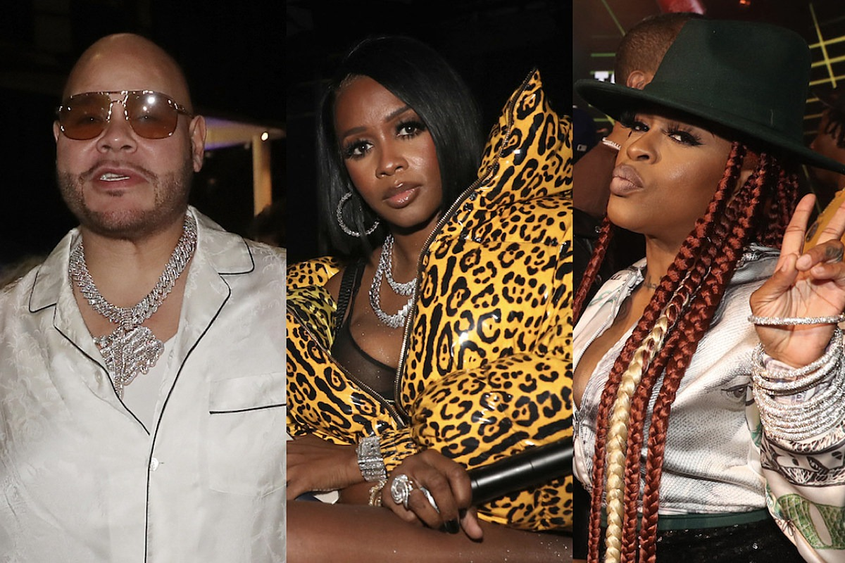Remy Ma Defends Fat Joe Over His  'Dusty Bitches' Comment During Ja Rule Verzuz